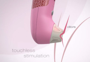 Luchtdruk vibrator simuleert orale seks