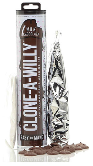 Clone-A-Willy Kit - Melk Chocolade dildo