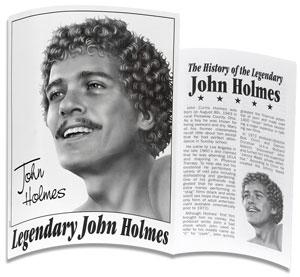 John Holmes realistische XXL Dildo met zuignap