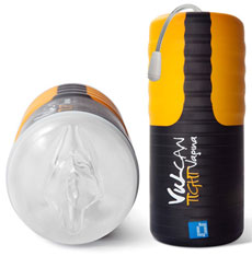 Vulcan vergeleken met Fleshlight masturbators