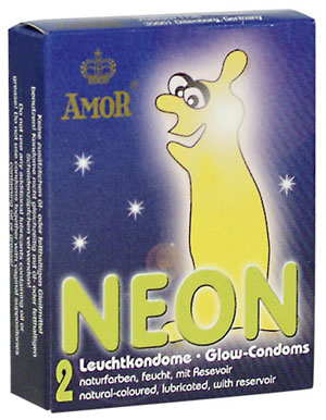 Glow-in-the-dark Condooms