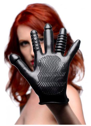 Masturbatie handschoen voor vaginaal en anaal vingeren