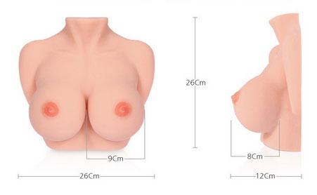 Hoe voelt de Bouncing Titties masturbator?