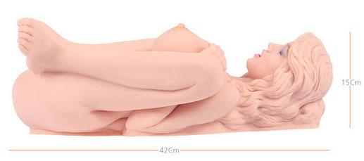Levensechte neukpop Victoria van het merk Kokos