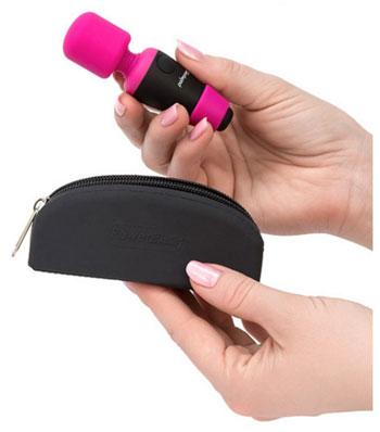 PalmPower Pocket Mini Wand Vibrator
