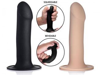 Squeeze-It kneedbare dildo en buttplug